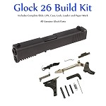 Glock 26 Gen 3 Build Kit - Sub Compact 9mm Slide and Lower Parts Kit